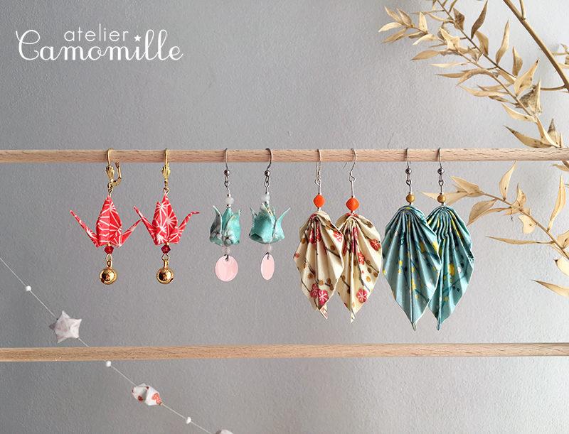 Atelier DIY bijoux en origami !