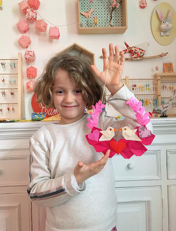 Retour en images atelier COURONNE FLORALE Saint Valentin !